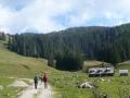 Weg zum Neuburgsattel