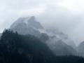 Blick vom Bergsteigerfriedhof auf den Ödstein