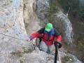 Einstieg Hanselsteig von oben