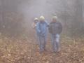 Die Hohe Wand im Nebel