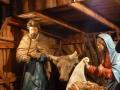 Weihnachtskrippe beim Lainzer Tor