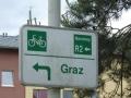 Wegweiser Murradweg
