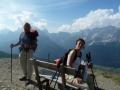 Blick zu den Sextener Dolomiten