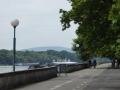 Radweg entlang der Donau
