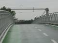 Fahrradbrücke der Freiheit - Blick nach Schloss Hof