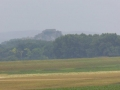 Blick zurück zur Burg Devin (Theben)