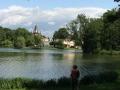 Blick zur Franzensburg