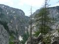 Blick in den Talsschluss zum Gaislochsteig