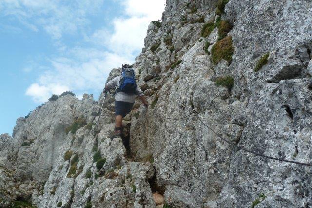 Klettersteig Rax : Rax wildfährte angelos touren at