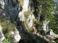 Abstieg am Kaisersteig
