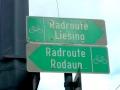 Markierung Radweg
