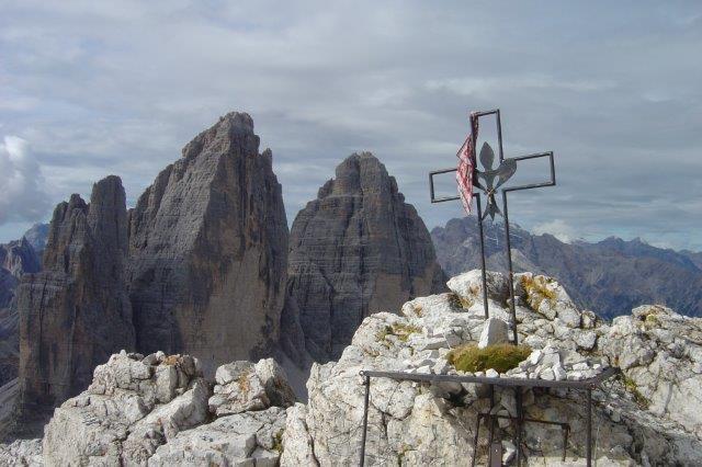 Klettersteig Drei Zinnen : Sexten klettersteig da luca innerkofler