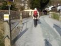 Weiterweg Richtung Wiesmath