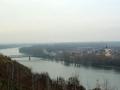 Blick nach Mautern am südseitigen Donauufer