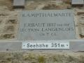 die Kamptalwarte auf dem Heiligenstein