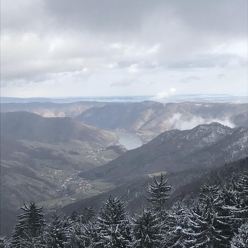 Blick vom Jauerling auf die Wachau
