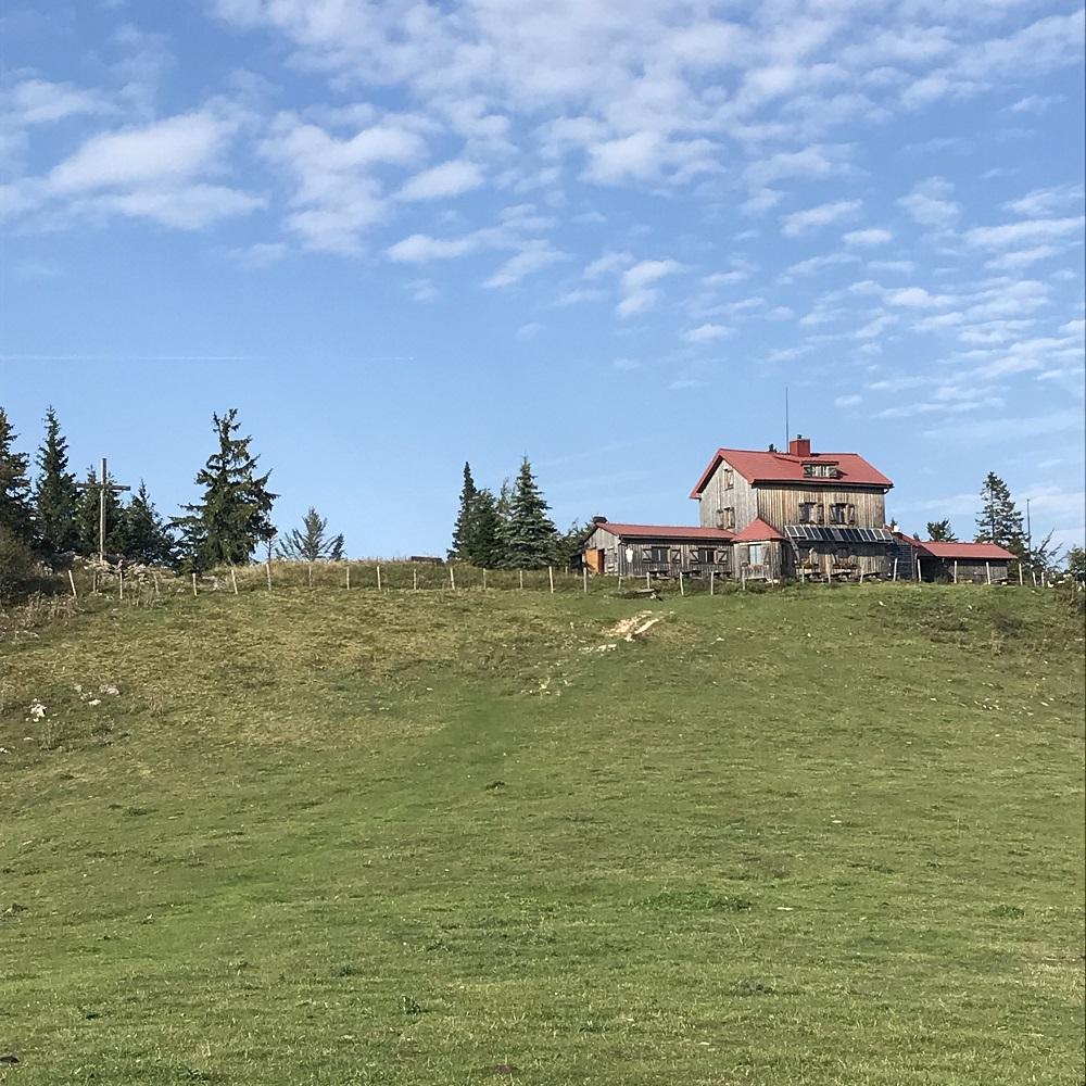 Julius Seitner-Hütte am Eisenstein