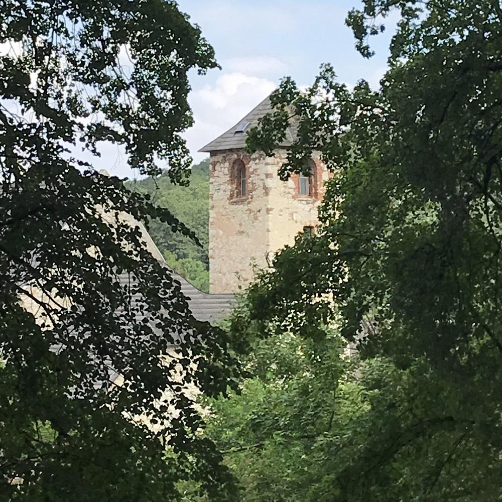 das aufgelassene Kloster St. Anna